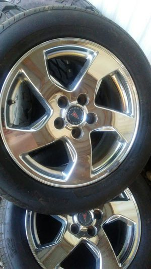 17 inch Pontiac Factory Rims and brand new tires for Sale in Turkey Creek, LA