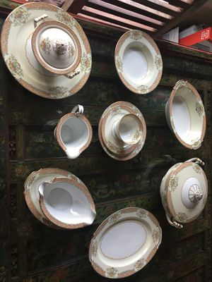 Antique China 12 place setting for Sale in Guadalupe, AZ