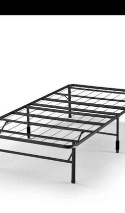 "Zinus 14"" SmartBase Zero Assembly Mattress Foundation, Metal Platform Bed Frame, Twin for Sale in Pennsauken Township,  NJ"