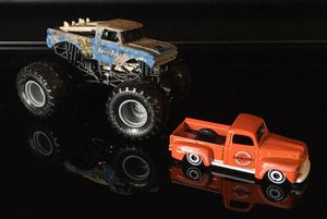 Hot Wheels two truck lot. Big Kahuna Monster, & Legends 49 Ford for Sale in Dallas, TX