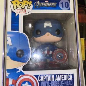 OG Avengers Captain America Funko Pop for Sale in Irving, TX