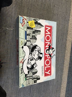 Monopoly used- all pieces present for Sale in Falls Church, VA