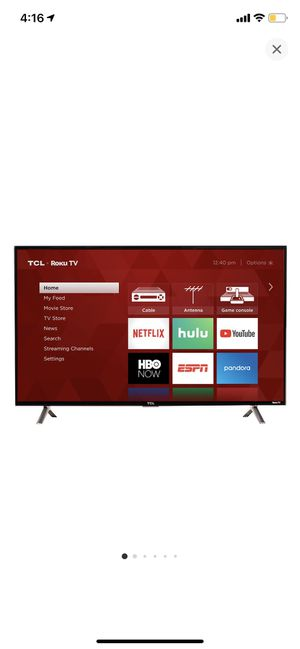 "32"" TCL ROKU TV for Sale in Tustin, CA"