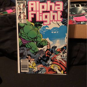 Marvel Comic Alpha Flight Comic for Sale in Mount Prospect, IL