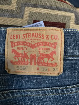 Levi's 569 36x32 for Sale in Lancaster, MA