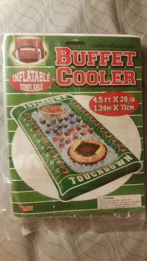 Inflatable buffet football cooler for Sale in Virginia Beach, VA