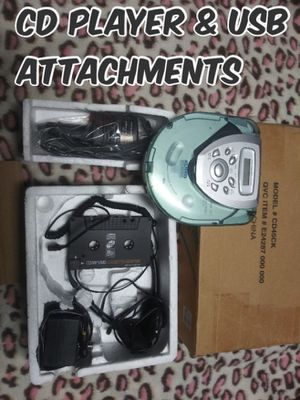 Cd player and other attachments for Sale in Victorville, CA