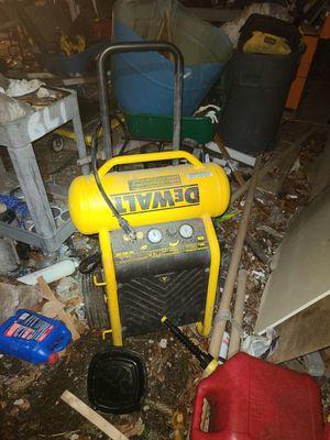 Dewalt air compressor for Sale in Aliquippa, PA