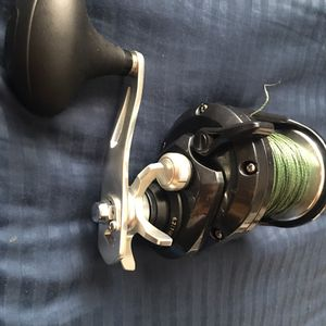 Torium 30HG Shimano Fishing Reel - Grouper Fishing 80 Pound Test Braid for Sale in Clearwater, FL