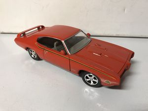 "Car DieCast 1/24 scale 1969 Pontiac GTO ""The Judge"" Orange for Sale in Kirkland, WA"
