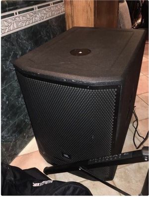 JBL PRX718xlf Subwoofer 1500watts for Sale in Manteca, CA