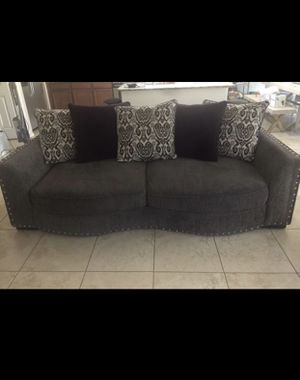 Grey couch for Sale in Avondale, AZ