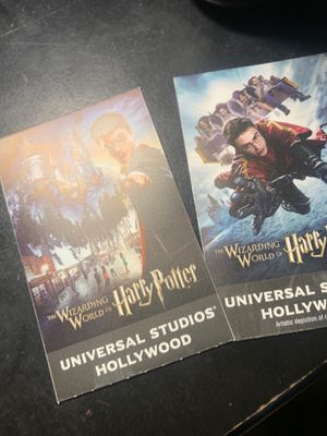 2 universal studios tickets for Sale in South Gate, CA