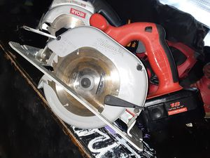 Milwaukee magnesium 61/2 18v circular saw for Sale in Midwest City, OK