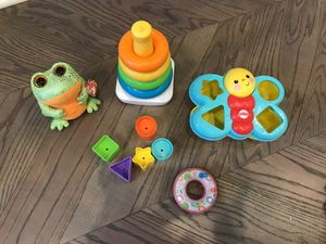 Baby toys, toddlers, learn shapes and colors for Sale in Brooklyn, NY