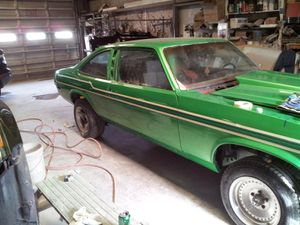 1978 nova with a 5.3 LS the car does have to be finished it does run Transmissions not hooked up don't have no more time to work on it for Sale in Amarillo, TX