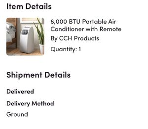CCH Portable AC unit for Sale in Fort Meade, FL