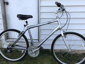 Trek Navigator 200 hybrid mountain bike. Silver and dark gray. Aluminum frame for Sale in Dover, DE