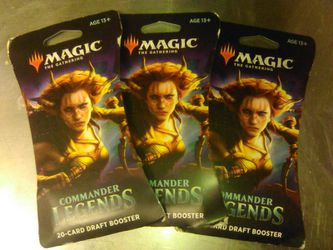 Magic The Gathering Commander Legends Booster Pack. for Sale in Portland,  OR