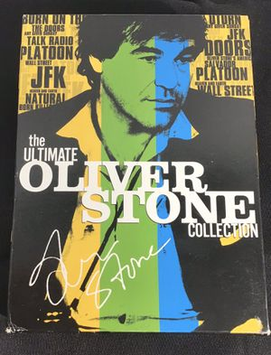 The Ultimate Oliver Stone Collection: (Salvador / Platoon / Wall Street / Talk Radio / Born on the Fourth of July / and more) Box Set. 14 Disc Collec for Sale in Oakland Park, FL