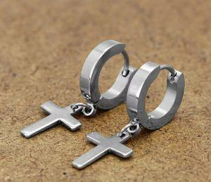 Cross hoops earrings for Sale in Los Angeles, CA