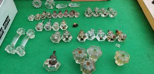 Antique Crystal/Glass Pulls/ Door Knob for Sale in Lorain, OH