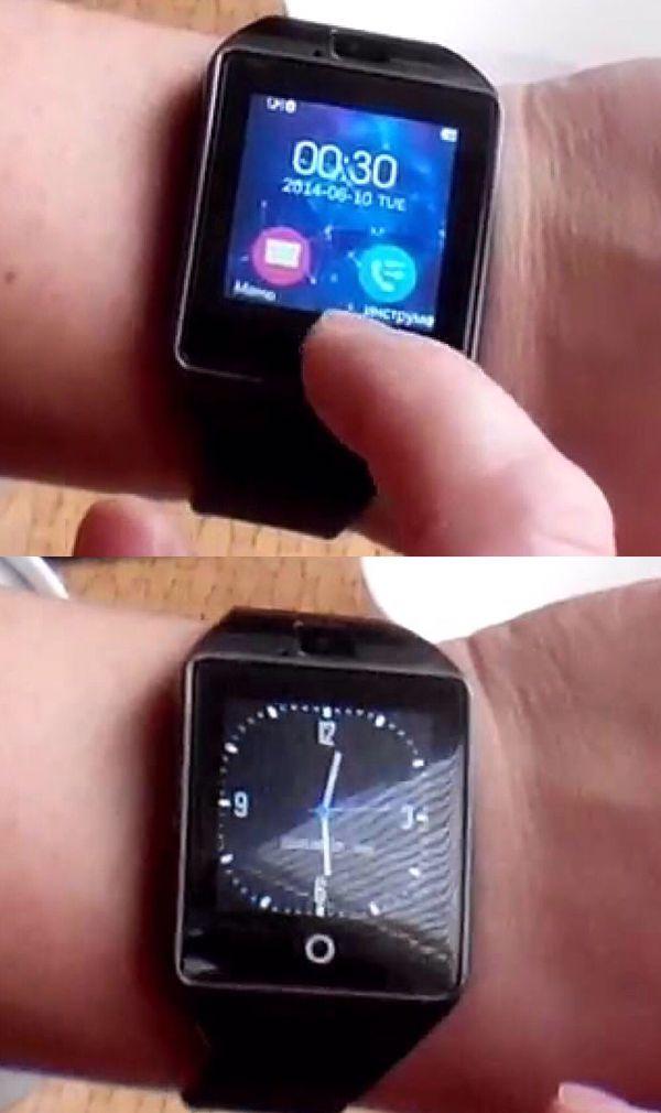 New smart camera watch camera phone web talk and text wrist watch bluetooth or sim card