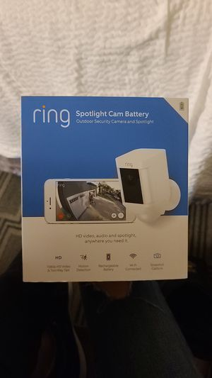 Ring Spotlight Cam (battery) for Sale in Los Angeles, CA