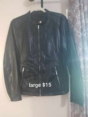 Womens Faux leather jacket for Sale in Winter Haven, FL