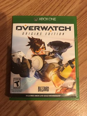 Overwatch for Xbox One for Sale in Portage, PA