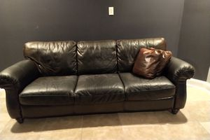 Leather couch for Sale in Ashburn, VA