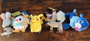 Pokémon plushies brand new for Sale in Hendersonville, TN