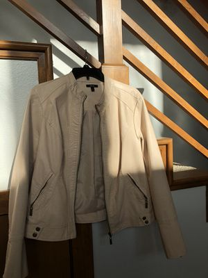 Tan leather jacket for Sale in Portland, OR