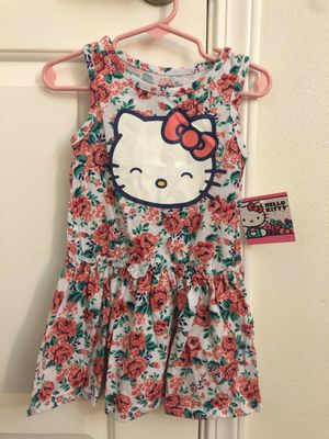 Hello kitty dresses 2pcs size 24 months for Sale in Bellflower, CA