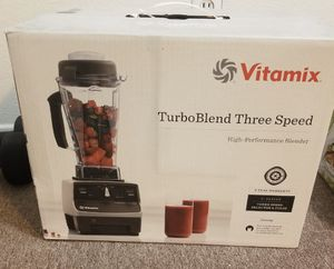 Vitamix TurboBlend 3-Speed Blender in Platinum for Sale in Whittier, CA
