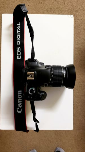 Canon EOS Rebel T3 Camera With EFS 18-55mm Lens for Sale in Sacramento, CA