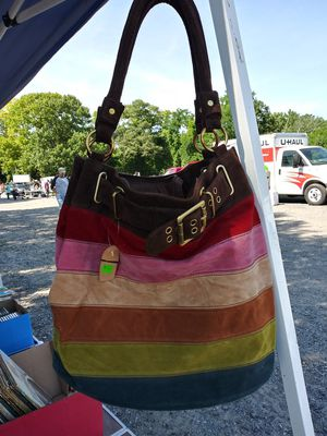New Hobo Style Fashion Suede Handbag with tags. for Sale in Aberdeen, MD