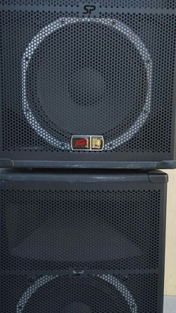 Peavey SP5 PA DJ speakers for Sale in Norco,  CA