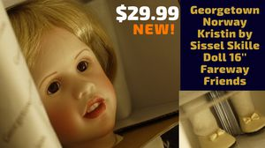"""•••Georgetown Coll•Norway Kristin by Isael Skille Doll 16""""••NEW!•• for Sale in Maplewood, MN"""