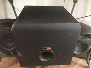 Klipsch surround sound promedia 2.1 for Sale in Temple, TX