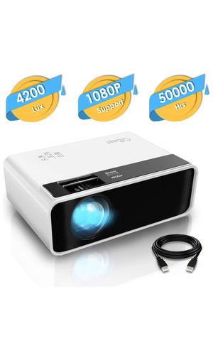 LED Portable Projector 1080P Supported- BRAND NEW for Sale in San Diego, CA