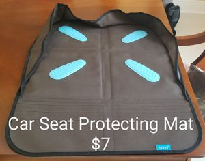 Car Seat Protecting Mat for Sale in Winter Garden, FL
