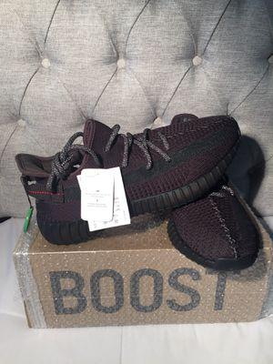 Adidas Yeezy Boost 350 v2 black non reflective size 9 for Sale in Atlanta, GA