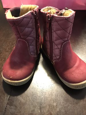 Baby girl boots size 6M for Sale in Charlotte, NC