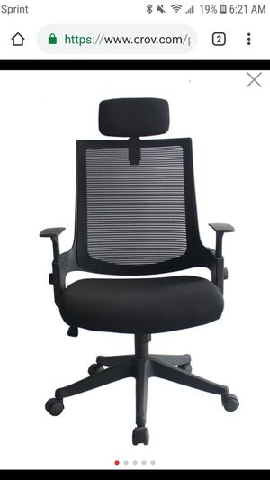 Henosit Furniture Ergonomic Office Chair High Back Mesh With Adjustable Headrest for Sale in Lecanto, FL