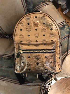 GOLD MCM BACKPACK for Sale in SEATTLE, WA