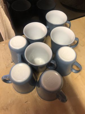 Vintage Pyrex Coffee Mugs - Set of 8 for Sale in Mission Viejo, CA