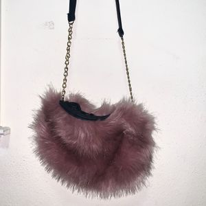 Fur Mauve Purse for Sale in Woodbridge, VA
