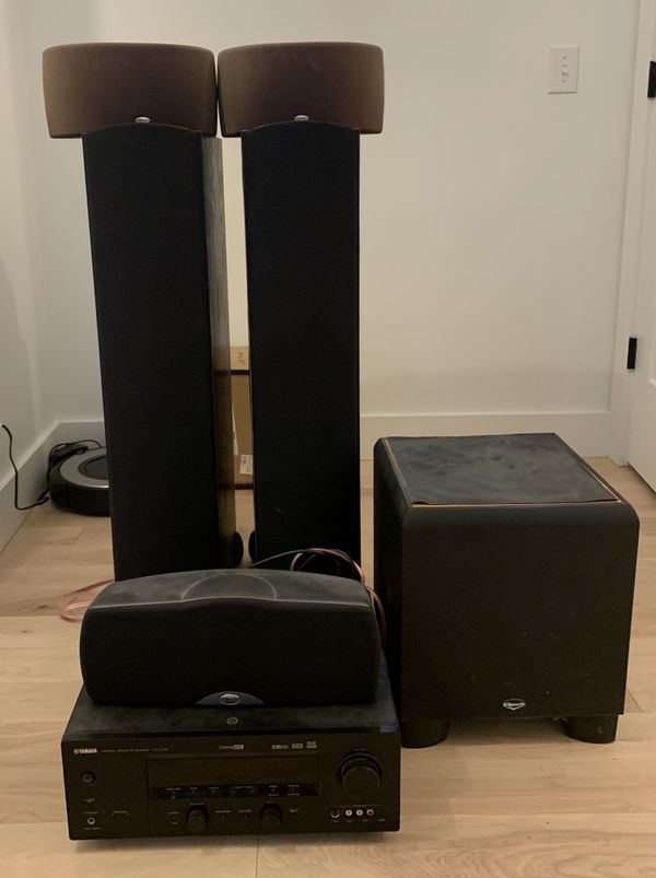 Klipsch Synergy 5.1 with Yamaha Receiver