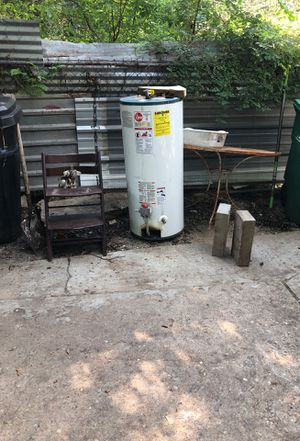 slightly used gas water heater for Sale in Houston, TX